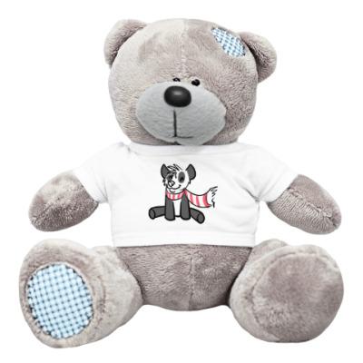 Плюшевый мишка Тедди Панда с шарфиком