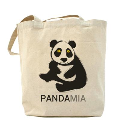 """Сумка Холщовая сумка """"Панда"""""""