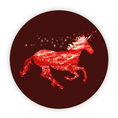 Костер (подставка под кружку) Рубиновый Единорог