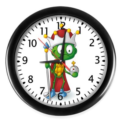 Настенные часы Добрый Черепашонок Король