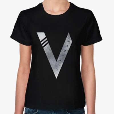 Женская футболка Vikings