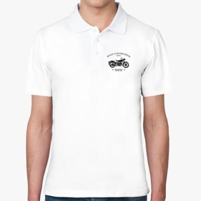 Рубашка поло Король дорог (мотоцикл)