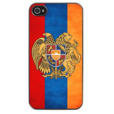 Чехол для iPhone Флаг и герб Армении