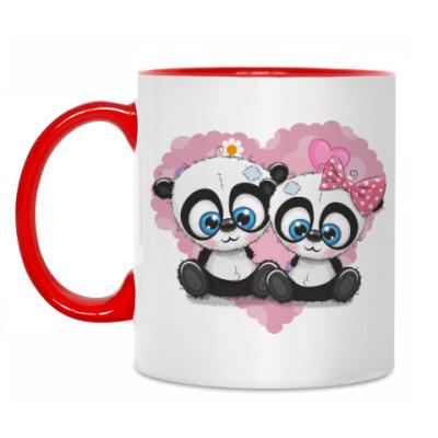 Кружка Маленькие панды