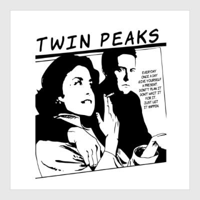 Постер Твин Пикс