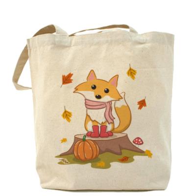 Сумка Осенняя лиса