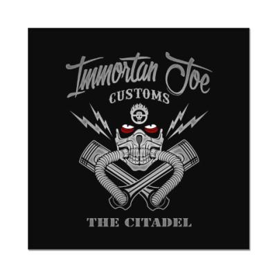 Наклейка (стикер) Immortant Joe customs