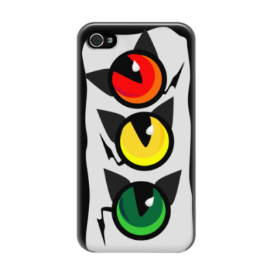 Чехол для iPhone 4/4s Котофор