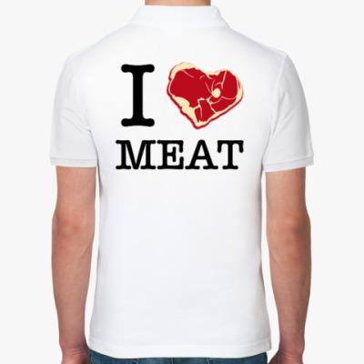 Рубашка поло I love meat