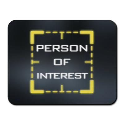 Коврик для мыши Person of Interest