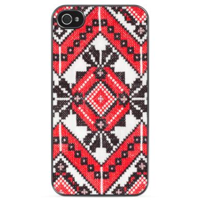 Чехол для iPhone  Украинский орнамент