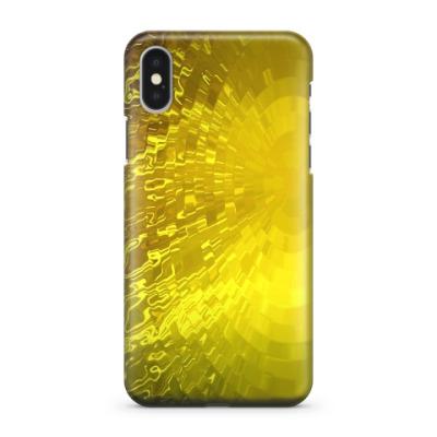 Чехол для iPhone X 'Золотая вода'