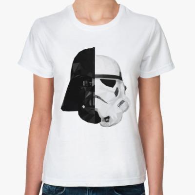 Классическая футболка Star Wars: Вейдер и Штурмовик