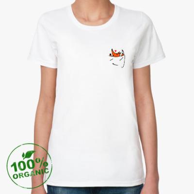 Женская футболка из органик-хлопка Сюрприз