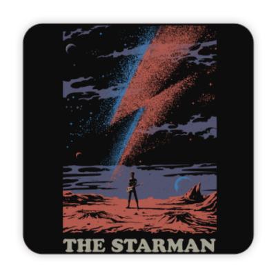 Костер (подставка под кружку) David Bowie Starman Дэвид Боуи