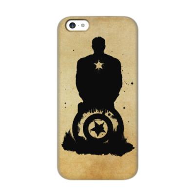 Чехол для iPhone 5c Captain America