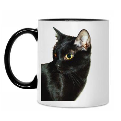 Кружка Чёрная кошка
