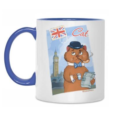 Кружка Кот из Лондона