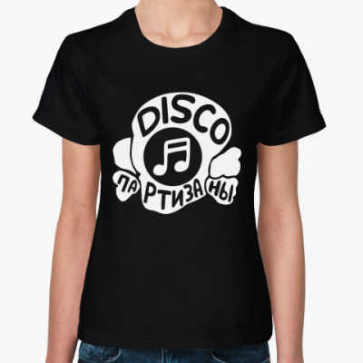 Женская футболка Женская футболка (черная)