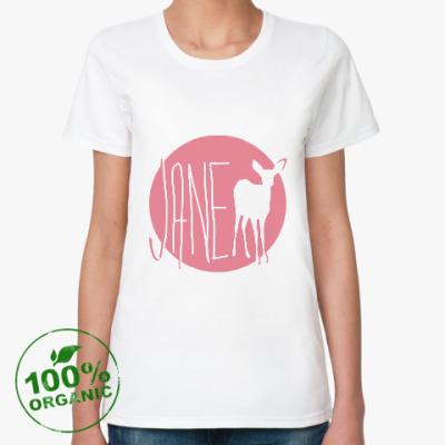 Женская футболка из органик-хлопка JANE DOE