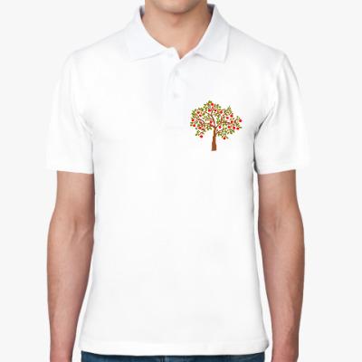 Рубашка поло Яблоня