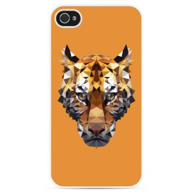 Чехол для iPhone Тигр / Tiger