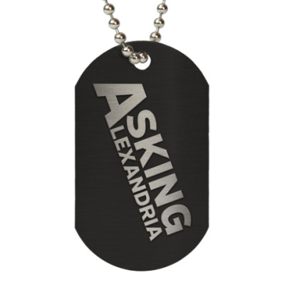 Жетон dog-tag Asking Alexandria