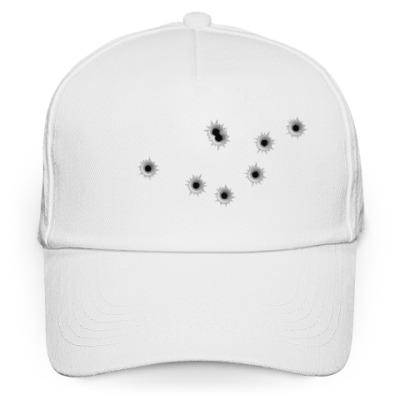 Кепка бейсболка Дырки от пуль
