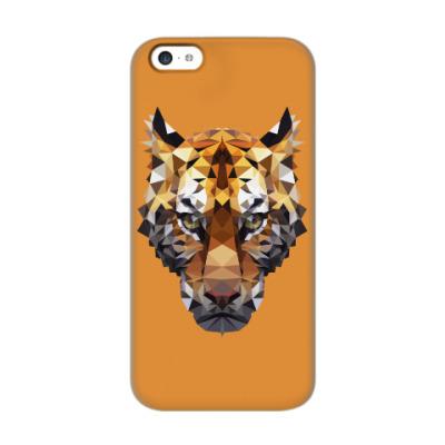 Чехол для iPhone 5c Тигр / Tiger