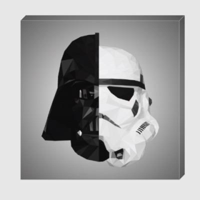 Холст Star Wars: Вейдер и Штурмовик