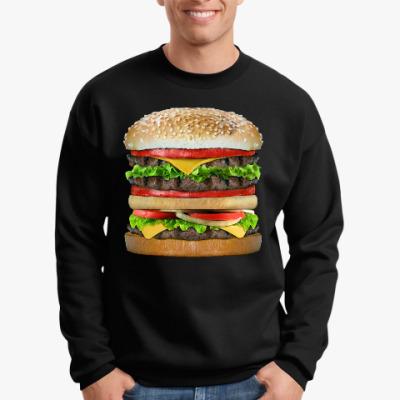 Свитшот Вкусняшка гамбургер