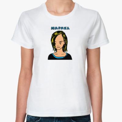 Классическая футболка Marika T