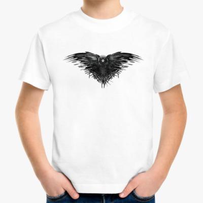 Детская футболка Игра Престолов: Ворон