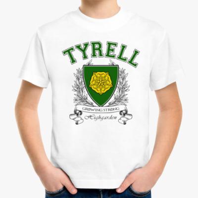 Детская футболка House Tyrell