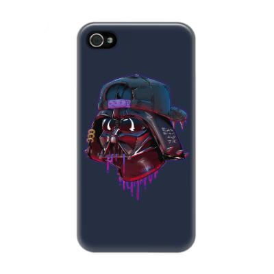 Чехол для iPhone 4/4s Дарт Вейдер Бомж