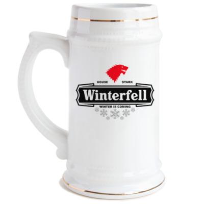 Пивная кружка Winterfell