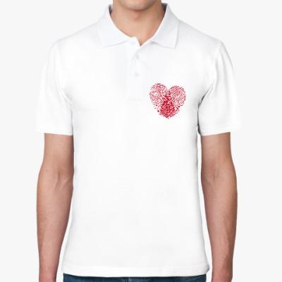 Рубашка поло Отпечатки Любви