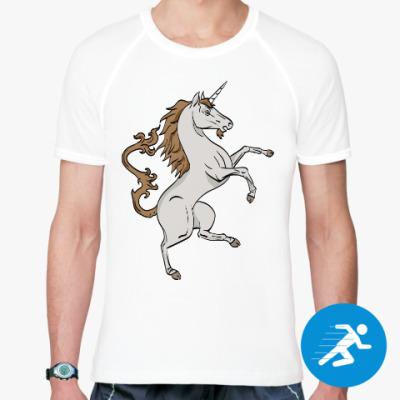Спортивная футболка Единорог