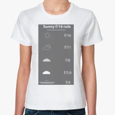 Классическая футболка Sunny f/16