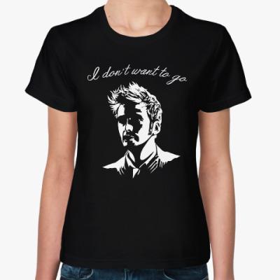 Женская футболка Десятый Доктор