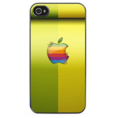Чехол для iPhone Радужный Apple