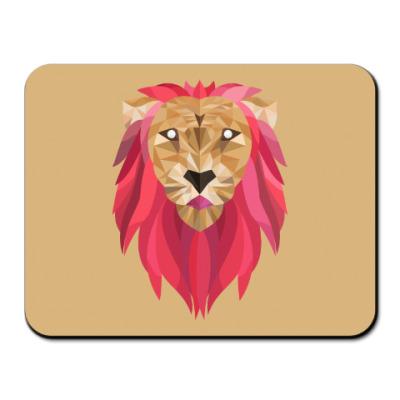 Коврик для мыши Лев / Lion