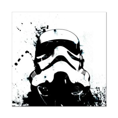 Наклейка (стикер)  Stormtrooper