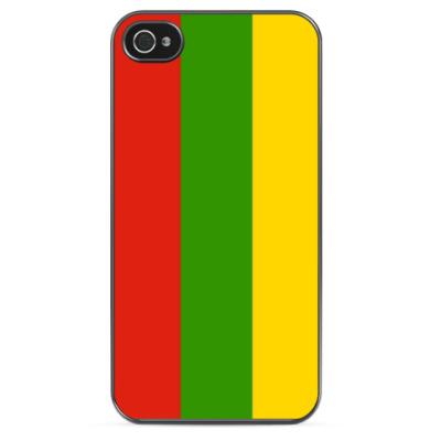 Чехол для iPhone Флаг Литвы