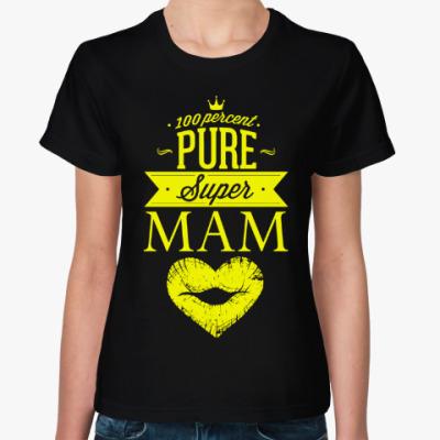 Женская футболка Супер Мама!