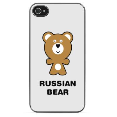 Чехол для iPhone russian bear