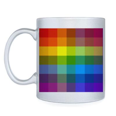 Кружка Цветные квадраты