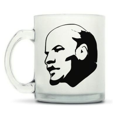 Кружка матовая В.И. Ленин