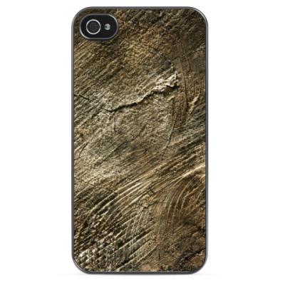 Чехол для iPhone Древесная Текстура