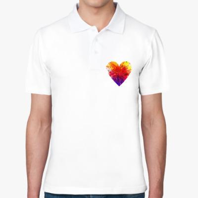 Рубашка поло Сердечко